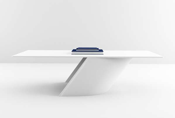 Tilted Minimalist Tables