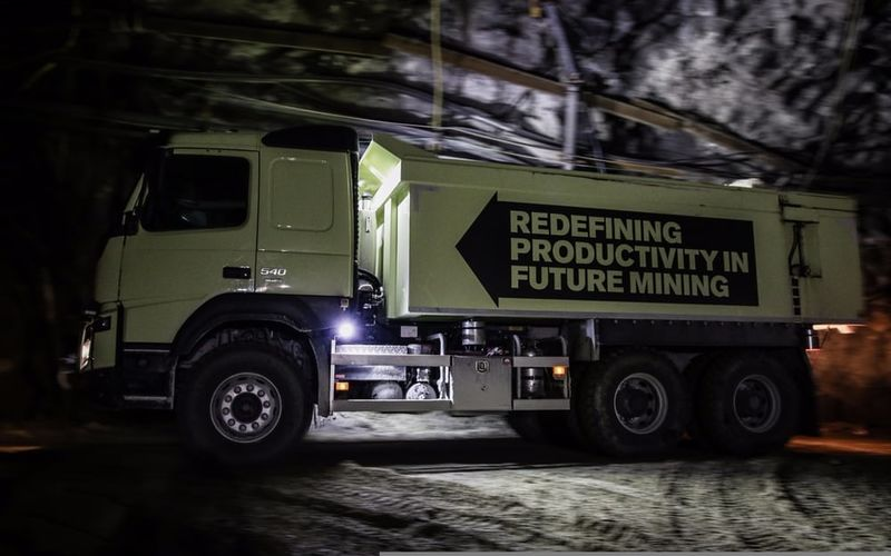 Autonomous Mine-Exploring Trucks