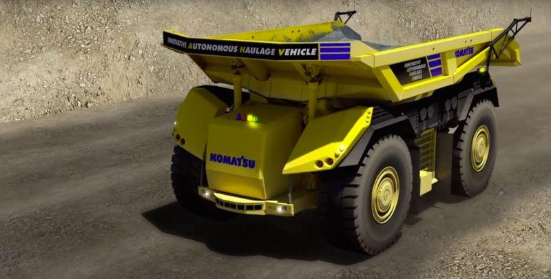 Autonomous Construction Trucks