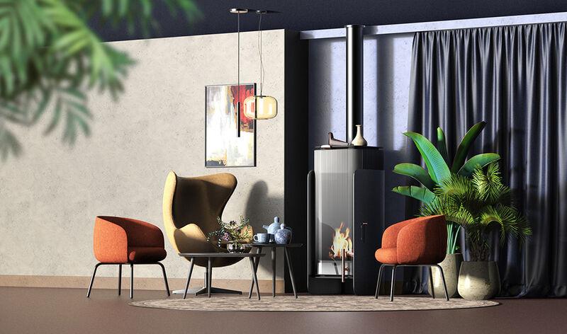Ornamentally Modern Fireplaces