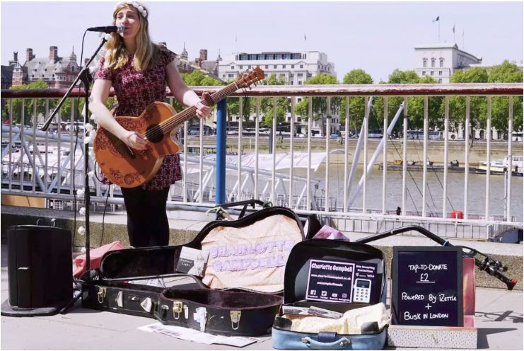Contactless Busker Payments