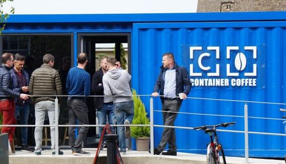 Shipping Container Coffee Shops