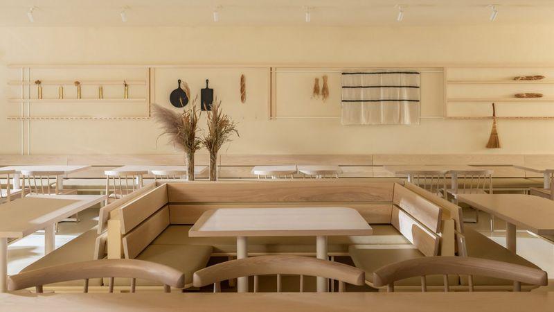 Warmly Contemporary Bakery Designs