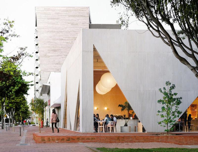 Elegant Contemporary Cafe Designs