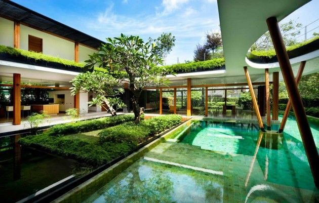 Watery Courtyard Residences