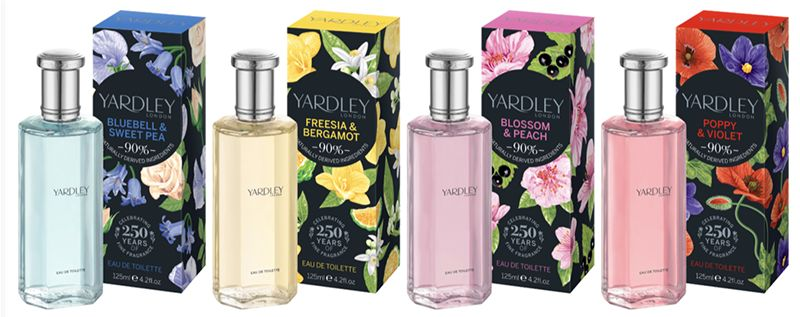 Contemporary Floral Fragrances