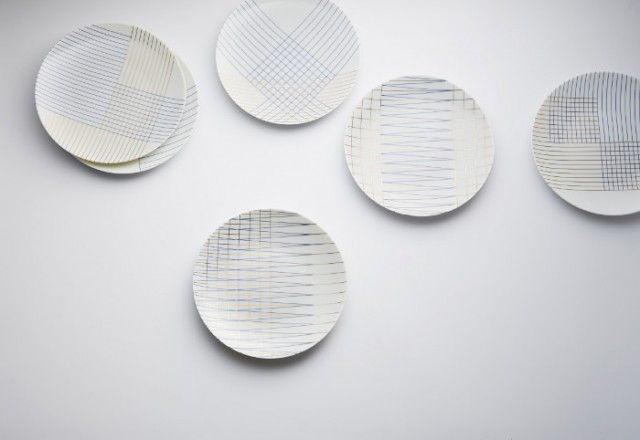 Contemporary Geometric Plates