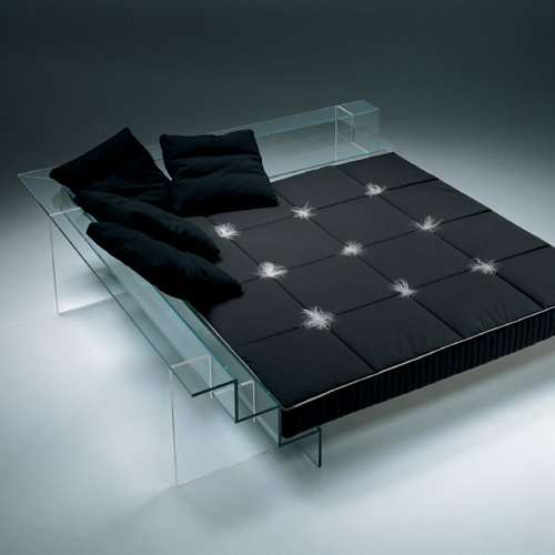 Contemporary Glass Beds