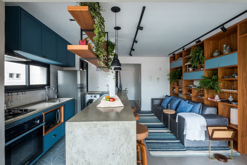 Contemporary Rustic Apartments
