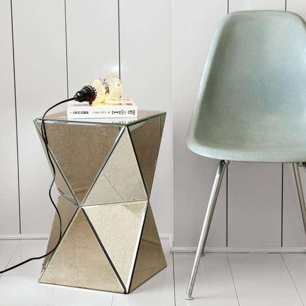 Mirrored Futuristic Furniture