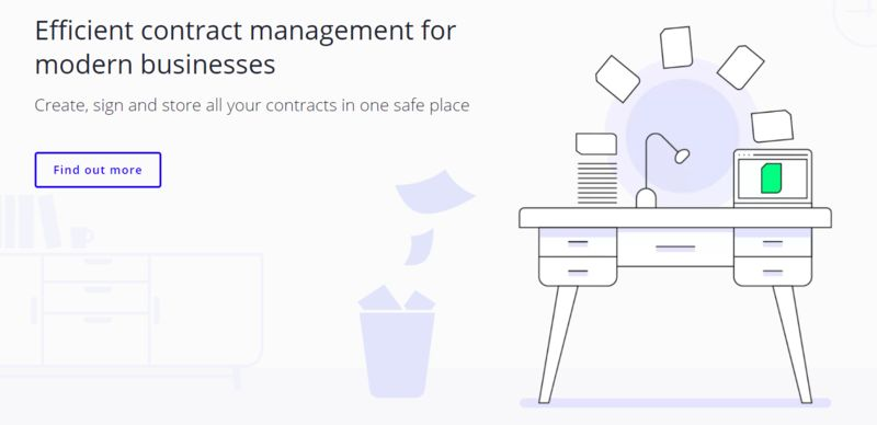 Efficient Contract-Management Platforms