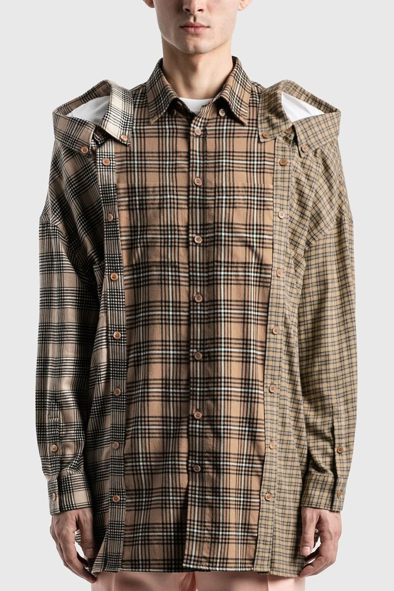 Luxe Patterned Flannel Shirts