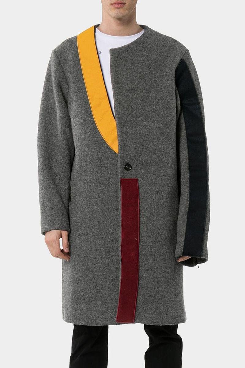 Mondrian-Inspired Paneling Coats