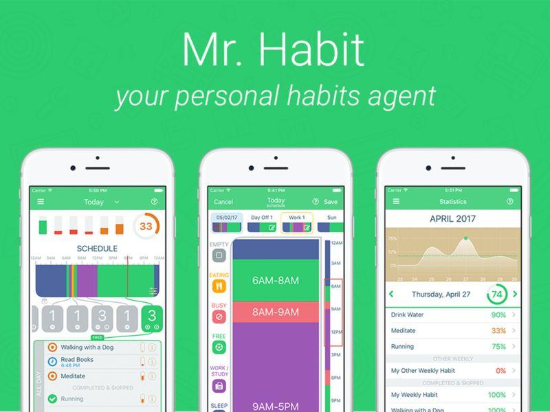 Healthy Habit-Forming Apps