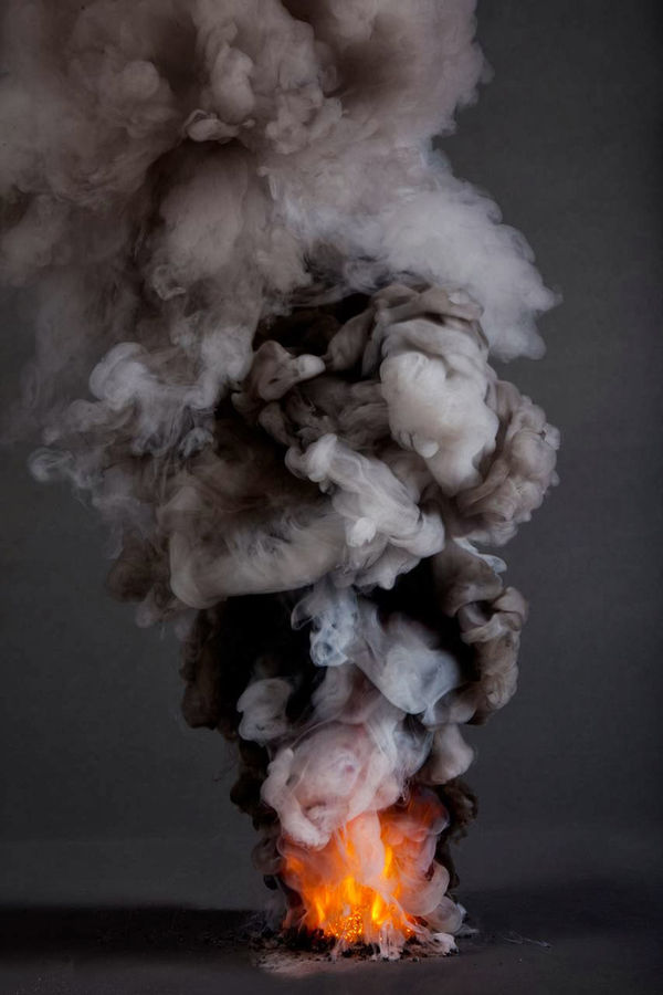 Controlled Elemental Inferno Photographs