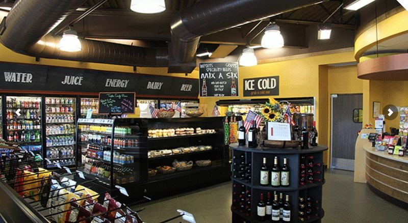 luxury convenience stores the 5 points market convenient store design has upscale features
