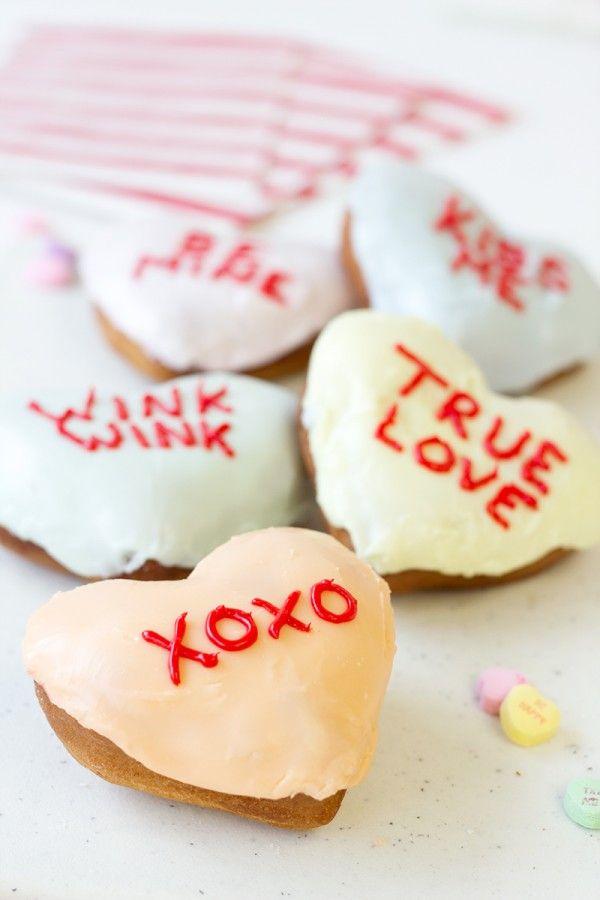 Wordy Valentine's Donuts