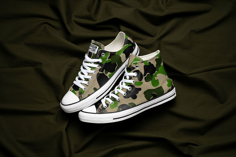 Bespoke Camo-Inspired Sneakers