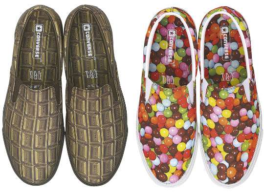Bonbon-Patterned Sneaks