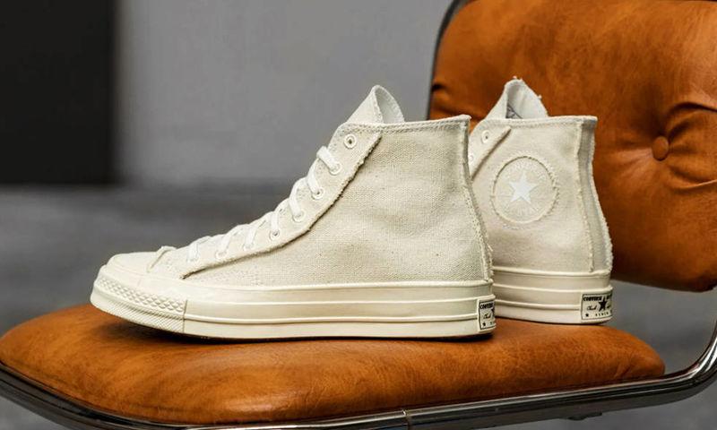 Raw Eco-Focused Sneakers