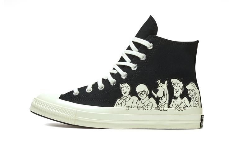 Mystery Cartoon Sneaker Collections Converse X Scooby Doo
