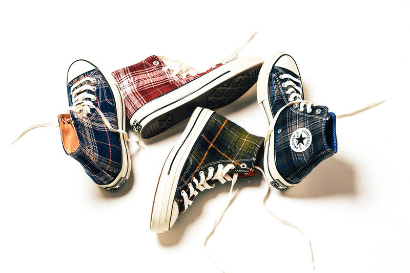 Fall-Ready Plaid High-Tops