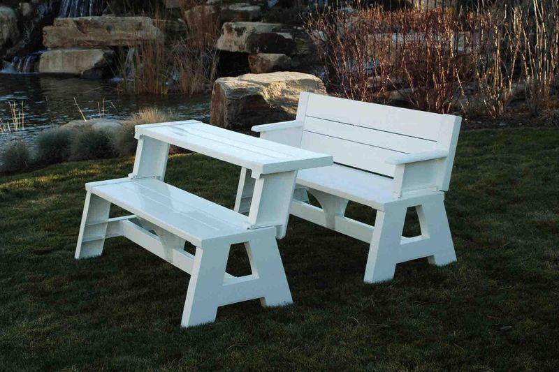 Transforming Outdoor Benches