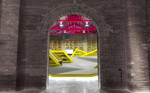 Playful Neon Crawlspaces