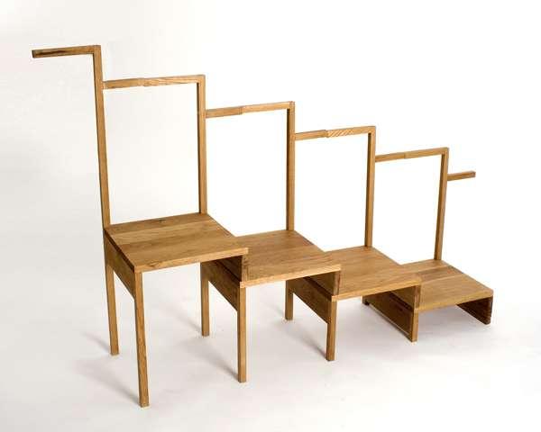 Convertible Chair Shelves