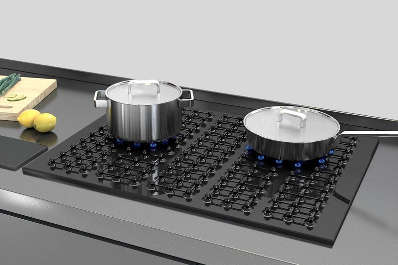 Cook Wear-Accommodating Cooktops