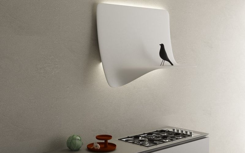 Curtain-Inspired Range Hoods