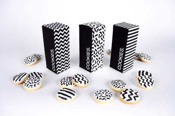 Coordinating Cookie Boxes