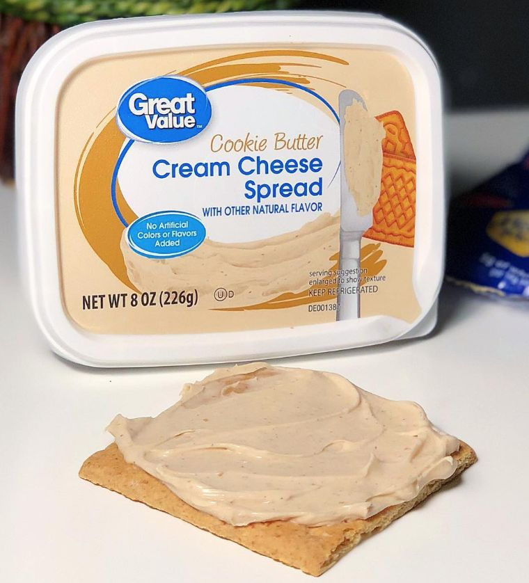 Cookie-Infused Cream Cheeses