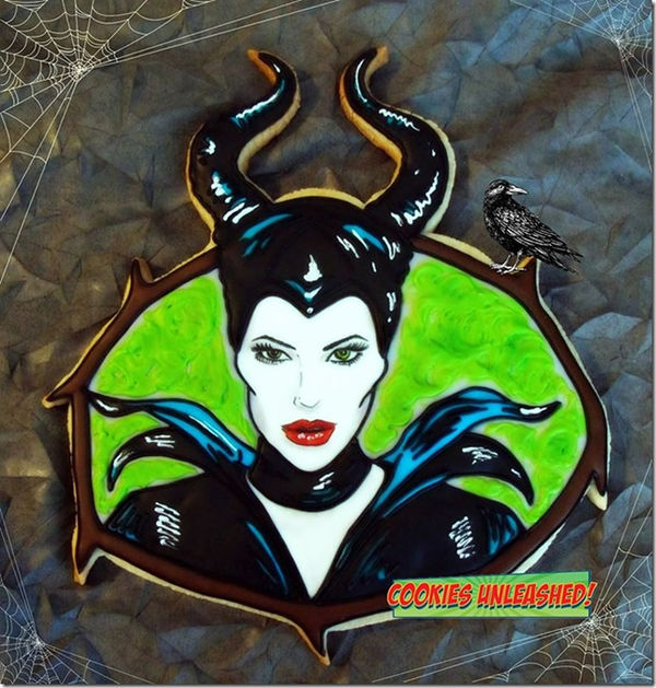 Evil Queen Cookies