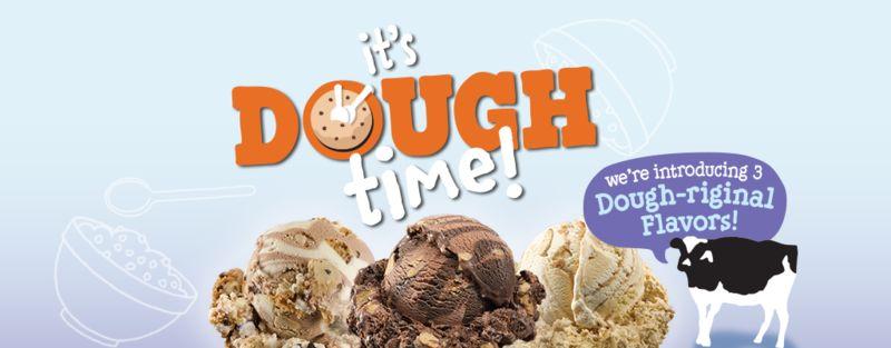 Indulgent Cookie Dough Cones
