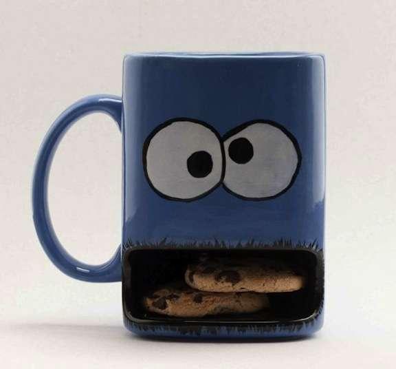 Gobbling Cookie Mugs