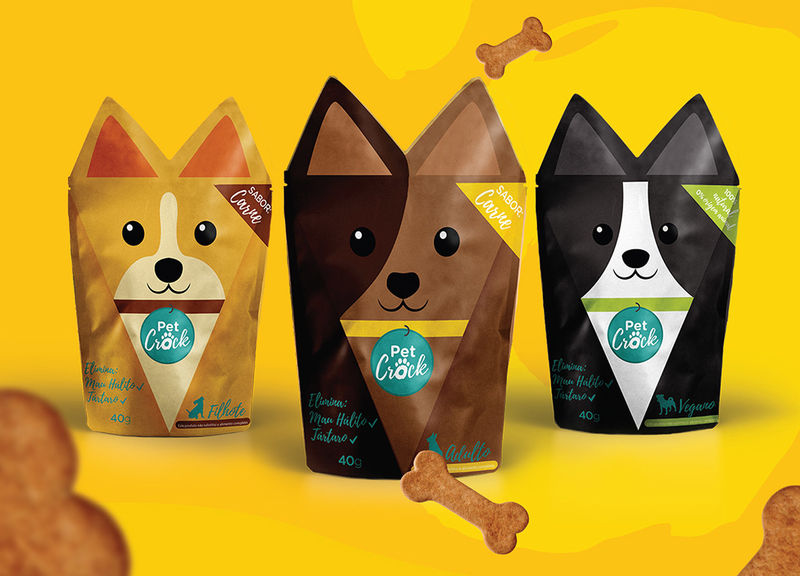 Familial Pet Product Packaging