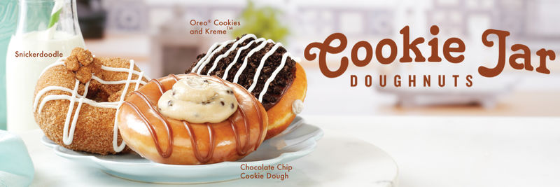Indulgent Cookie-Flavored Donuts