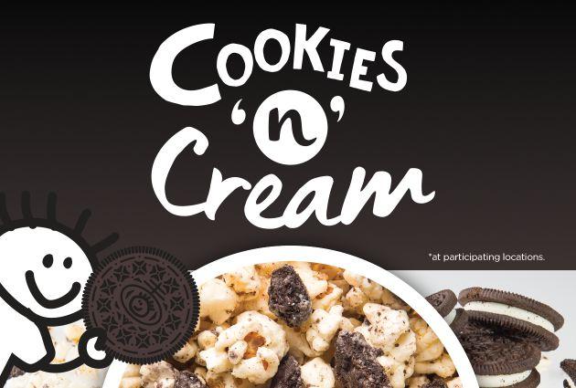 Festive Cookie-Coated Popcorn
