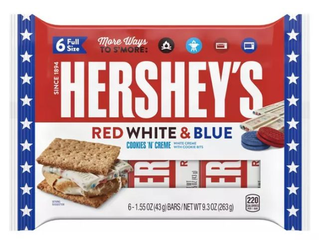Patriotic Celebratory Candy Bars