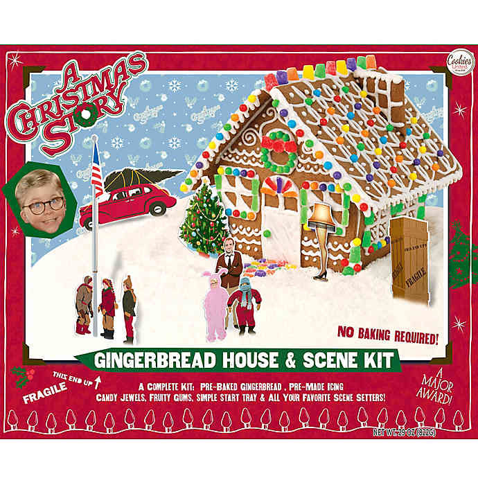 Movie-Themed Gingerbread Houses