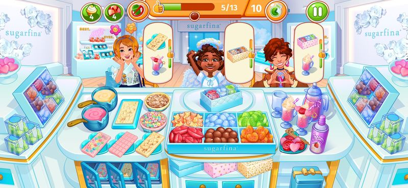 Branded Candy Boutique Games