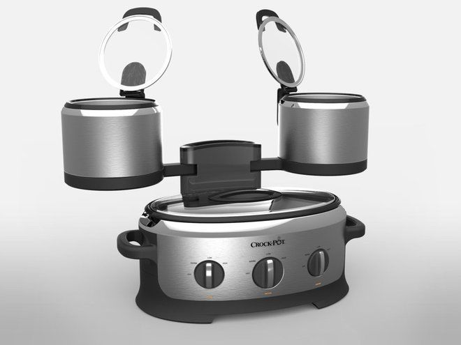 Three-Pot Slow Cookers