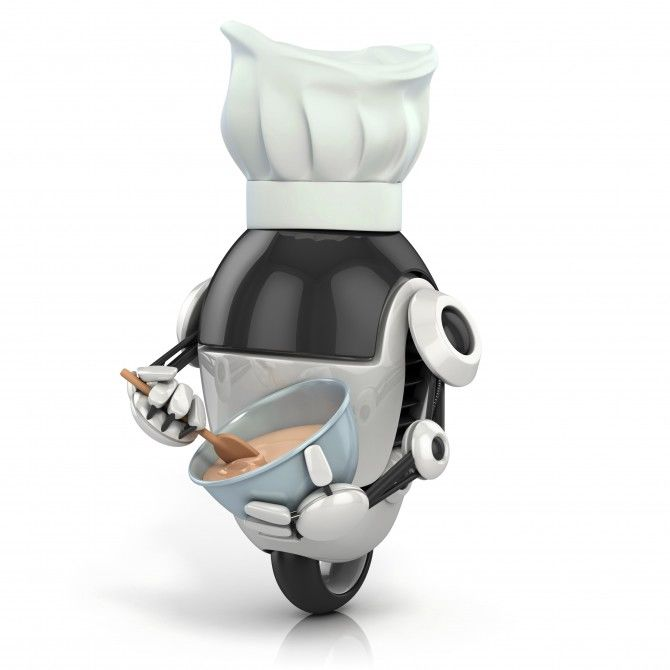 Video-Assisted Cooking Robots