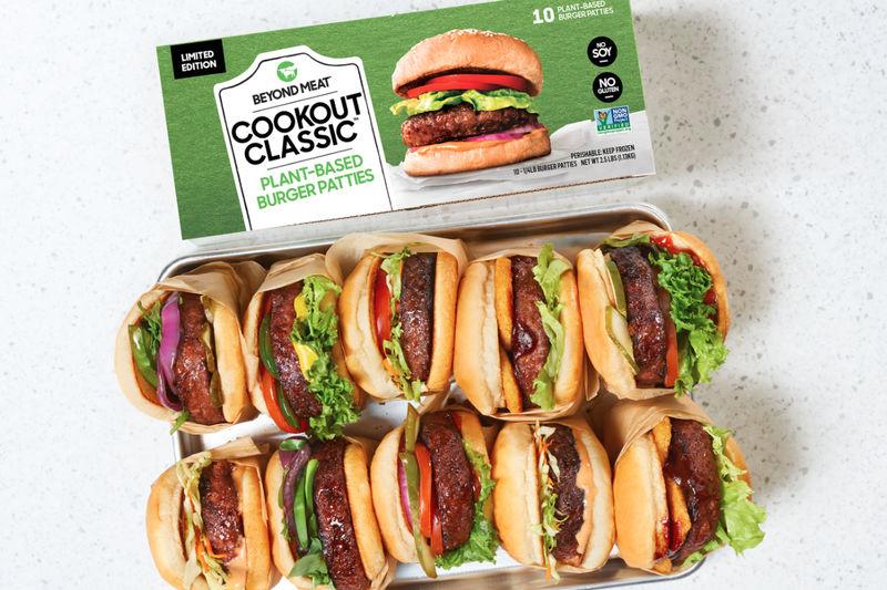 Plant-Based Burger Packs