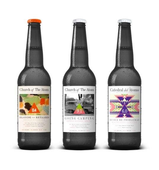 Pop Culture Beer Branding : Cool Beer Bottles