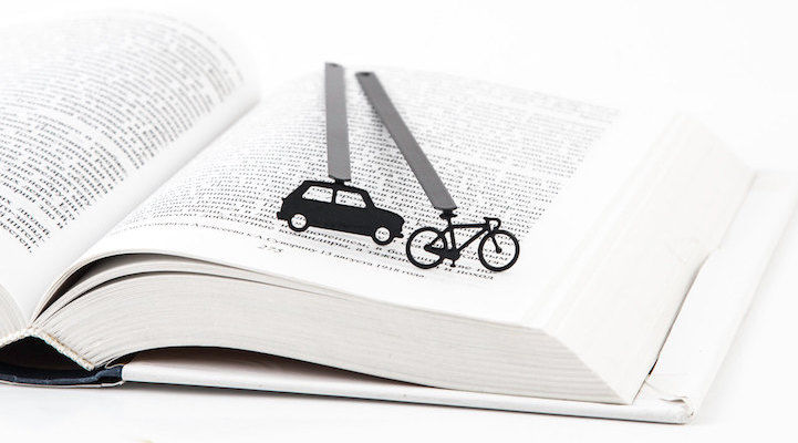 Quirky Laser-Cut Bookmarks