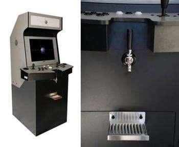 Arcade Cabinet / Kegerator Hybrid