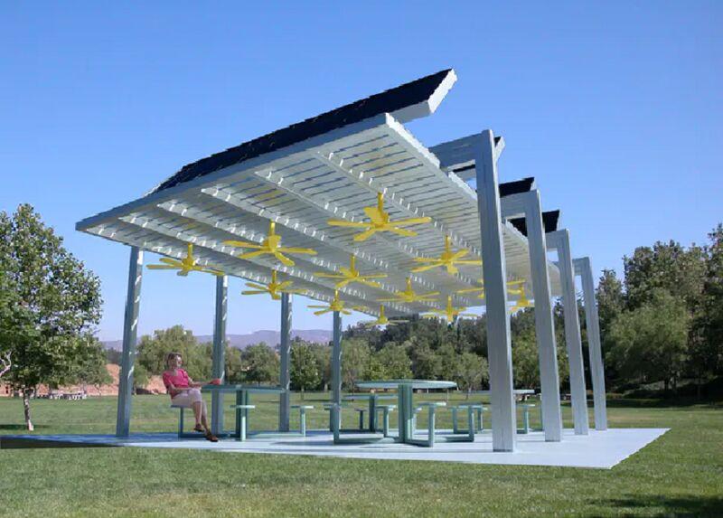 Public Cooling Pavilions