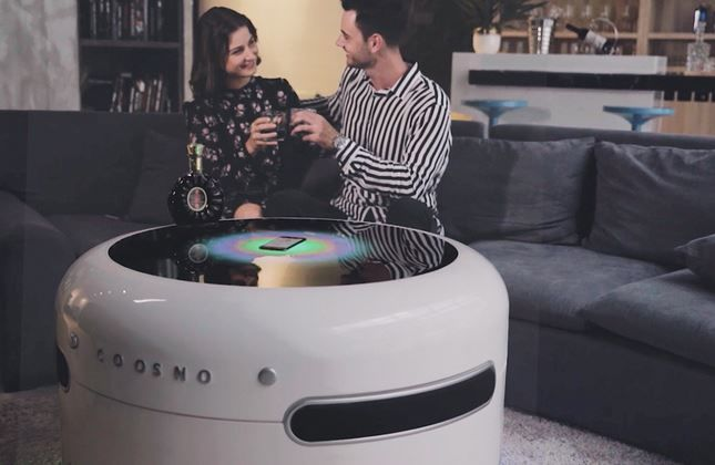 Connected Smart Home Tables : Coosno smart coffee table